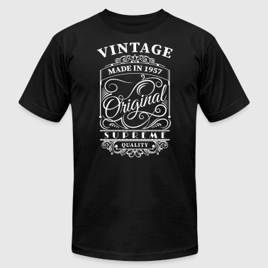 Vintage made in 1957 - Men's T-Shirt by American Apparel