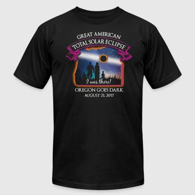 Oregon Total Solar Eclipse August 21 2017 - Men's T-Shirt by American Apparel