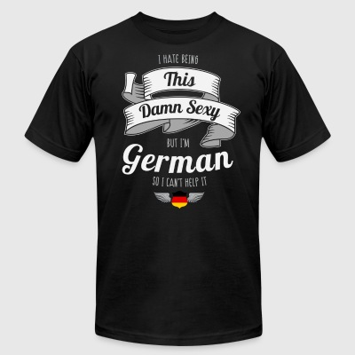 Sexy German - Men's T-Shirt by American Apparel