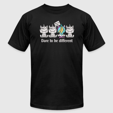 Dare to be Different Unicorn - Men's Fine Jersey T-Shirt