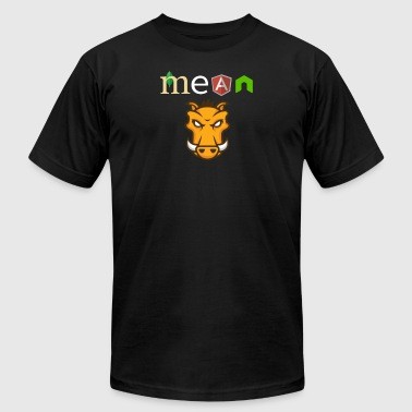 MEAN Stack Developer - Men's T-Shirt by American Apparel