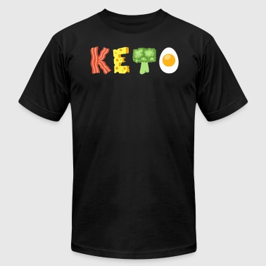 Keto Low Carb Diet - Men's T-Shirt by American Apparel