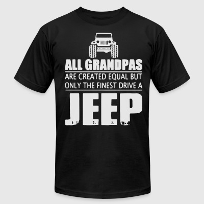 all grandpas are created equal but only the finest - Men's T-Shirt by American Apparel