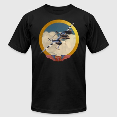 Babylonian Air Force - Men's T-Shirt by American Apparel