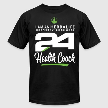 i am an herbalife independent distributor 24 healt - Men's T-Shirt by American Apparel