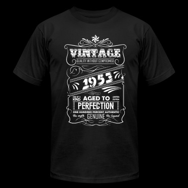 Vintage Aged To Perfection 1953 - Men's Fine Jersey T-Shirt