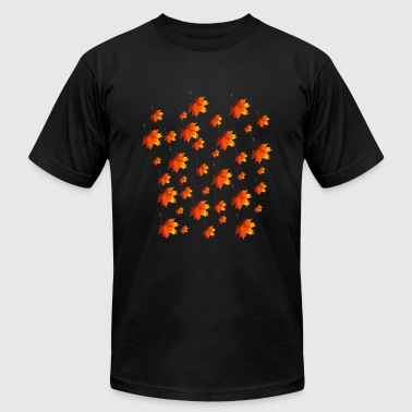 Dry leaf clothes in autumn - Men's T-Shirt by American Apparel