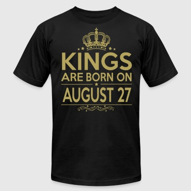 Kings are born on August 27 - Men's Fine Jersey T-Shirt