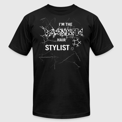 I'm Psychotic The Hair Stylist T Shirt - Men's T-Shirt by American Apparel