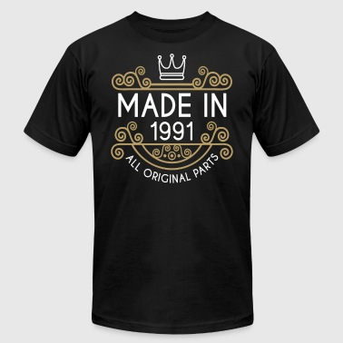 Made In 1991 All Original Parts - Men's Fine Jersey T-Shirt