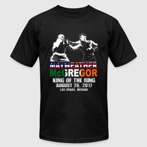 Floyd Mayweather & Conor McGregor Fight Shirt - Men's T-Shirt by American Apparel