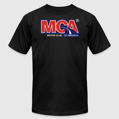 MCA Logo Transparent - Men's T-Shirt by American Apparel