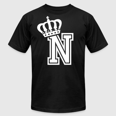 Name: Letter N Character N Case N Alphabetical N - Men's Fine Jersey T-Shirt