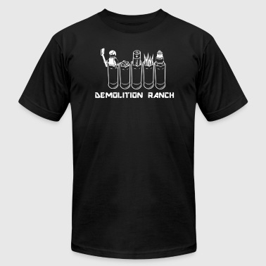 Demolition Ranch Tshirt Demolition Love - Men's Fine Jersey T-Shirt