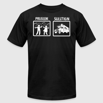 Problem Solution Rving - Men's T-Shirt by American Apparel