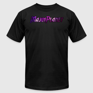 Majin Planet 2017 SE Logo - Men's T-Shirt by American Apparel