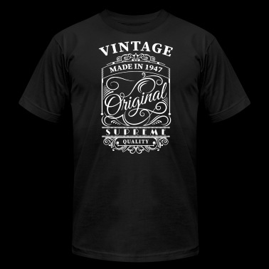 vintage made in 1947 - Men's Fine Jersey T-Shirt
