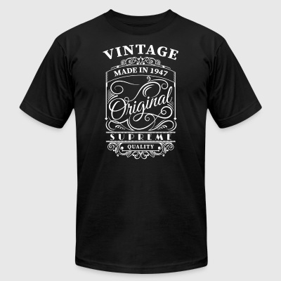 vintage made in 1947 - Men's T-Shirt by American Apparel