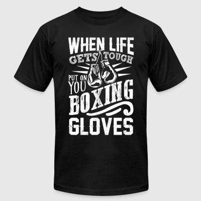 Boxing gloves - Men's T-Shirt by American Apparel