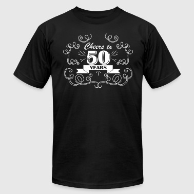 Cheers to 50 years - Men's Fine Jersey T-Shirt