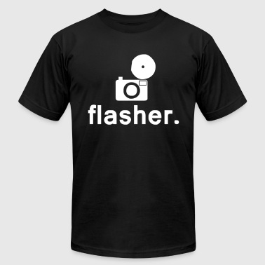 Flasher Photography - Men's Fine Jersey T-Shirt