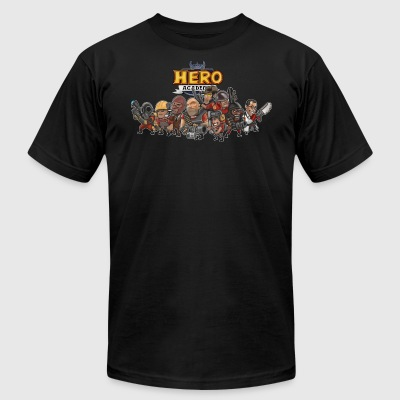 Hero Academy - Men's T-Shirt by American Apparel