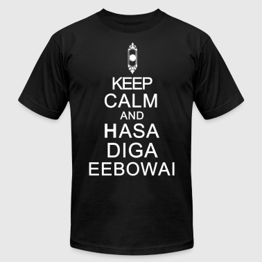 The Book Of Mormon Musical. Hasa Diga Eebowai. - Men's Fine Jersey T-Shirt