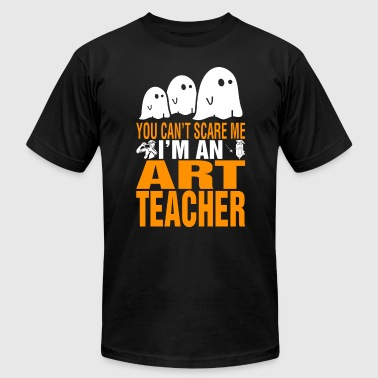 You Cant Scare Me Im Art Teacher Halloween - Men's T-Shirt by American Apparel