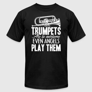Trumpets Tee Shirt - Men's T-Shirt by American Apparel