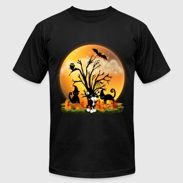 Halloween Cats - Men's Fine Jersey T-Shirt