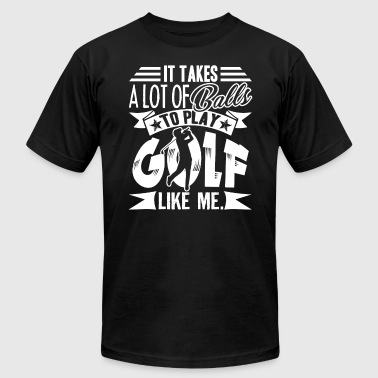 Golf T Shirts - Men's Fine Jersey T-Shirt