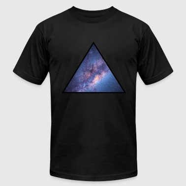 Milky Way, Astronomy - Men's Fine Jersey T-Shirt