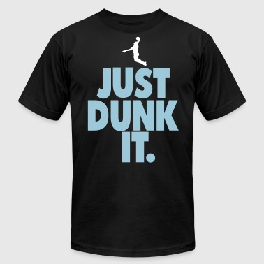 JUST DUNK IT. - Men's Fine Jersey T-Shirt