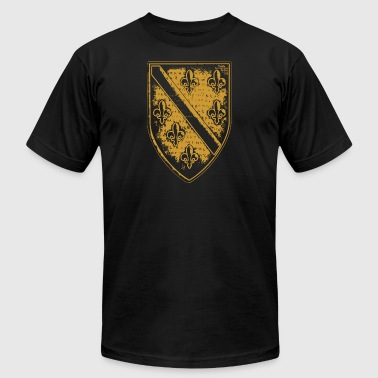 The Dragon Of Bosnia - 001 - Men's T-Shirt by American Apparel