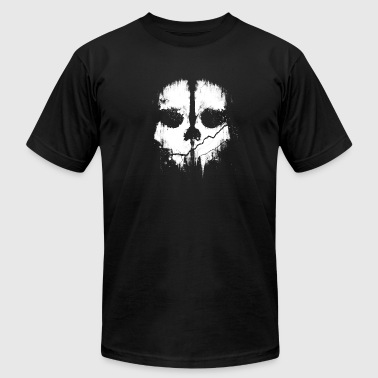 Scary Skull Artwork - Men's Fine Jersey T-Shirt