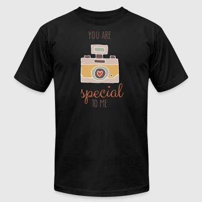 You Are Special To Me - Men's T-Shirt by American Apparel