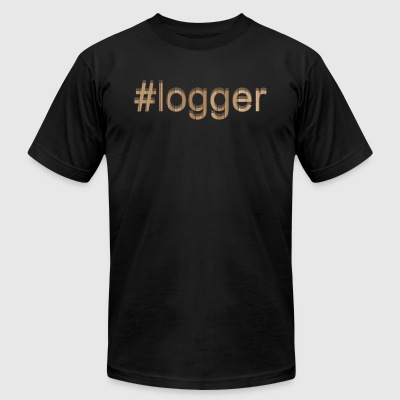 Logger Tee Shirt - Men's T-Shirt by American Apparel
