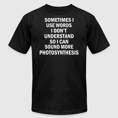 Photosynthesis - Men's T-Shirt by American Apparel