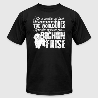 BICHON FRISE WORLD SHIRT - Men's T-Shirt by American Apparel