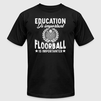 Floorball Tee Shirt - Men's T-Shirt by American Apparel