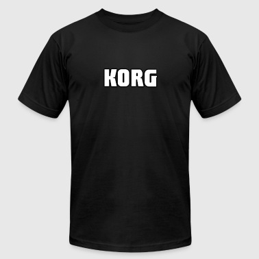 Korg white color - Men's Fine Jersey T-Shirt