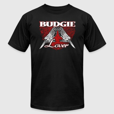 BUDGIE LOVER SHIRT - Men's T-Shirt by American Apparel