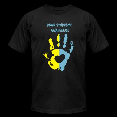 down syndrome awareness - Men's Fine Jersey T-Shirt