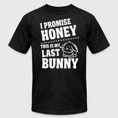 Promise honey - my last bunny - Men's Fine Jersey T-Shirt