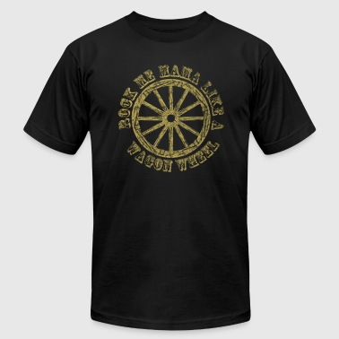 Wagon Wheel - Men's Fine Jersey T-Shirt