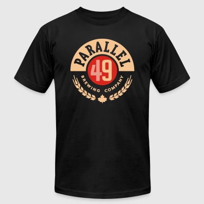 parallel 49 - Men's T-Shirt by American Apparel