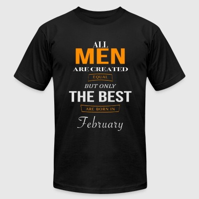 February Birthday - Men's T-Shirt by American Apparel
