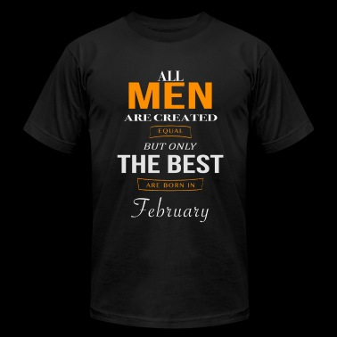 February Birthday - Men's Fine Jersey T-Shirt