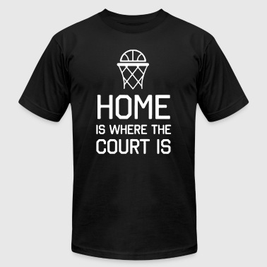 Basketball Tee Shirt - Men's T-Shirt by American Apparel
