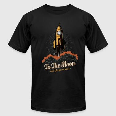 To the moon - Litecoin Cryptocurrency - Men's Fine Jersey T-Shirt